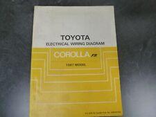 2003 TOYOTA SEQUOIA Service Repair Shop Manual Electrical Wiring EWD OEM 03 WORN