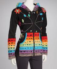 Sweats et vestes à capuches multicolores pour femme, taille XL