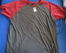 Herren T-Shirt Urban Classics 5XL XXXXXL grau rot neu mit Etikett