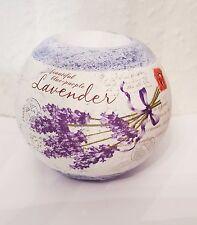 Teelichthalter Lavendel lila Herbst Dekor / Kerzenhalter rund Deko Blume Garten