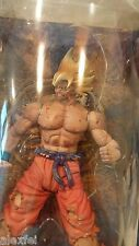 "DBZ Dragon Ball Z IF Labs Movie Collection Battle Damaged S.S. Goku 9"" freeship"