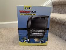 Tetra Whisper EX 45 Silent Multi-Stage Power Filter 30-45 Gallon Aquariums (New)