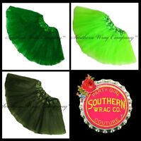 ST PATRICKS  DAY TUTU GIRLS JUNIORS ADULTS LENGTH 11in by Southern Wrag Company™