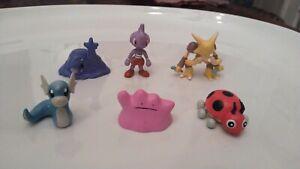 Pokemon Figures  Lot of 6                                  Group 3