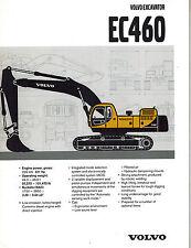 Volvo Ec460 Excavators Brochure 2003