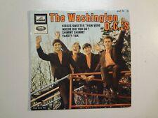 """WASHINGTON D.C.'s:Kisses Sweeter Than Wine+3-France 7"""" 65 La Voix EGF 761 EP PCV"""