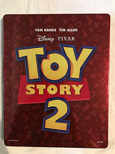 Disney Pixar Toy Story 2 Steelbook Blu-ray DVD Tin Case Collectible