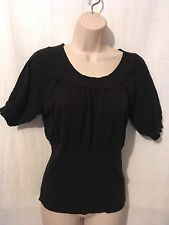 Axcess Top Sz M Black Stretch Cotton 170538