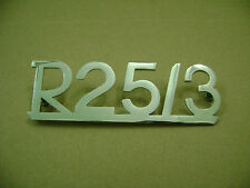 BMW R25/3 motorcycle rear fender emblem  NEW