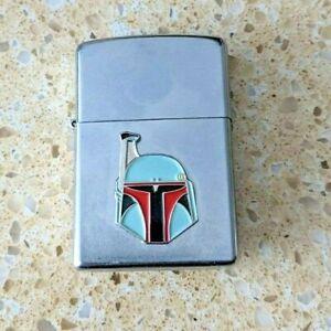 Original Zippo Chrome Lighter - Customised for The Mandalorian - used