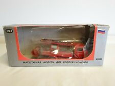 PMZ-1/ZIS-11 USSR Fire Engine Truck 1:43 Diecast