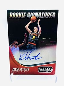 Kevin Huerter 2018-19 Panini Threads Rookie Rc Signatures #15