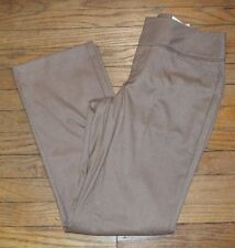 Elle Bootcut Mid Rise Curvy Through Hips & Thighs Taupe Pants Trouser Pant