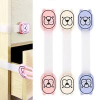 5pcs bébé armoire de sécurité serrures PET armoire tiroir de porte frigo enfant
