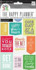 The Happy Planner Stickers - GET IT DONE - 6shts