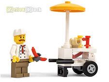 LEGO® City Hot-Dog-Stand Würstchenverkäufer NEU aus 60134 Stadtbewohner