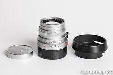 *RARE* Leica Summicron-M 50mm f2 11825 Silver Chrome 1:2/50 v.4 M6 M7 M9 MM M10