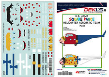 1/72 Decals-US Army Helicopter Aerobatic Team 'Square Dance' Pt1 - DEKL's II