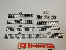 AS125-0,5# 11x Märklin H0/AC Gleisstück/Schiene (K-Gleis): 2290+2207+2208, NEUW