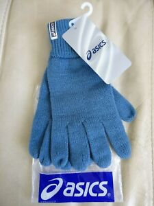 ASICS Unisex Knitted Gloves, BNWT in various colors