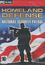 HOMELAND DEFENSE National Security Patrol Border Defensive Strategy PC Game NEW!