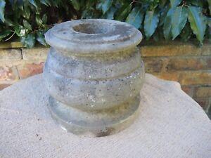 Small Vintage  Marble Stone  Garden Urn  22 cm high  (309)