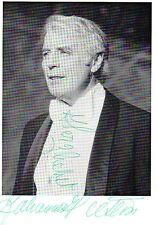 Autogramm - Johannes Heesters