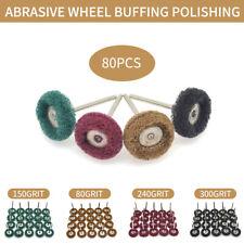 25mm Mix Grit Abrasive Buffing Polishing Wheels Abrasive Wheels For Dremel Tools