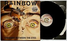 RAINBOW Straight Between the Eyes (Polydor Deluxe POLD 5056) EX+