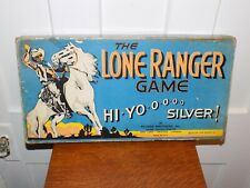 The Lone Ranger Board Game Parker Brothers 1938