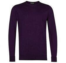 John Smedley Cotton Crew Neck Jumpers & Cardigans for Men
