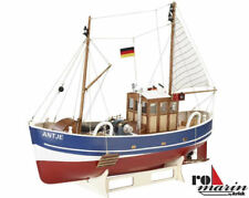 Krick Antje 1:20 Scale Fishing Cutter Kit + Detail Fittings Kit - RC Compatible