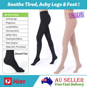 Women Compression Pantyhose Stockings Support Medical Varicose Vein Edema Tights