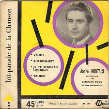 "RARE ANDRE MONTALS ""VENUS / BIM-BOM-BEY"" 50'S EP WELSON D.006"