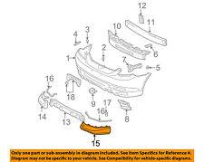 TOYOTA OEM 03-04 Matrix-Spoiler / Wing Kit Left 7685202900
