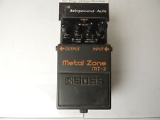 Boss MT-2 Metal Zone Distortion Effects Pedal Free US Shipping