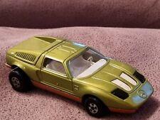 Vintage Matchbox Speed Kings K30 Mercedes C111 Green 1971 working headlights.