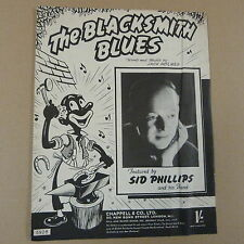 songsheet THE BLACKSMITH BLUES Sid Phillips 1950