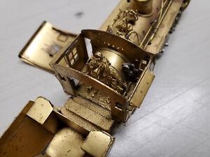 HOn3 Brass D&RGW K-28 Steam Locomotive