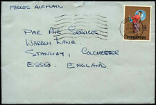 SIngapore 1970 Commercial Airmail Cover To UK #C37838