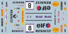 DECALS 1/43 RENAULT CLIO WILLIAMS - #8 - KULIG - RALLYE BARBORKA 1996 - D43445