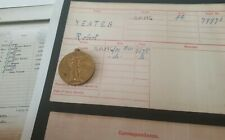 WW1 Victory Medal to Private Robert Yeates, Royal Army Medical Corps