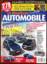 Le moniteur Automobile 30/09/2015; comparatif monospaces/ Mercedes C 350e