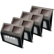 MAXSA INNOVATIONS 47334-BZ Solar LED Deck Light, 4 pk (Bronze Finish)