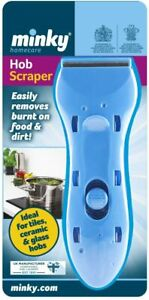 MINKY CERAMIC TILES GLASS HOB SCRAPER REMOVES BURNT FOOD AND DIRT MUST HAVE TOOL