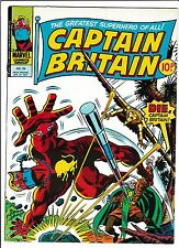 "CAPTAIN BRITAIN #29  [1977 FN-]  ""LONELY ARE THE HUNTED!"""