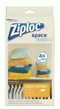 Ziploc Space Bag Vacuum Seal Cube Combo Storage Bag...New in Box