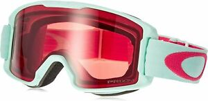 Oakley Line Miner Red Jasmine Blue Youth Snow Goggles 5015