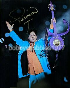 Singer Prince Autographed Signed 8x10 Photo REPRINT