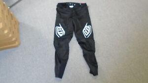 Troy Lee Designs Sprint Pant - Men's Solid Black, 36
